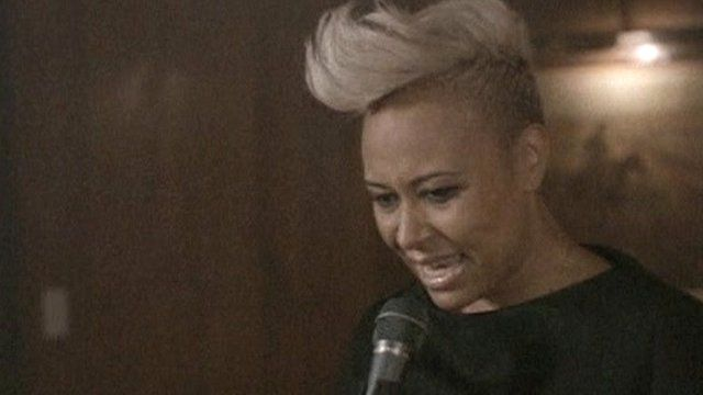 Emeli Sande has topped the UK chart with her debut album.