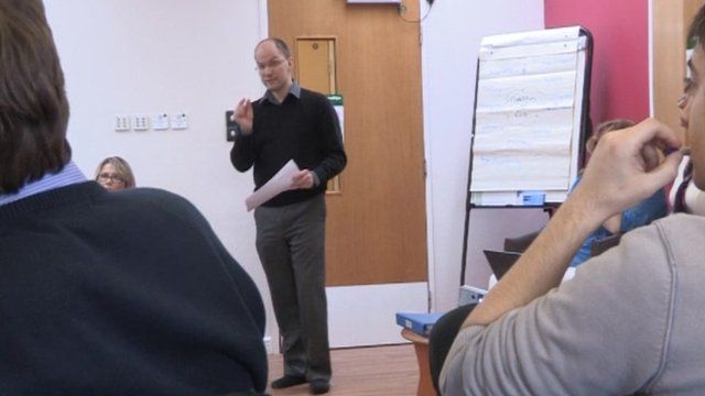 Andy Bradley runs a social enterprise that trains nurses to be compassionate