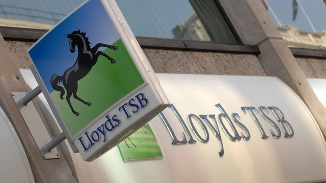 Lloyds TSB bank branch