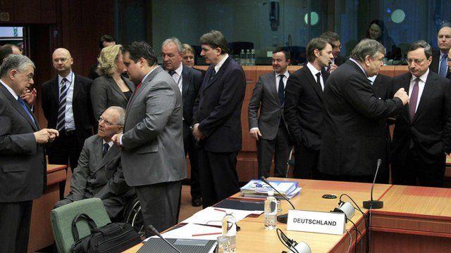 Eurozone finance ministers