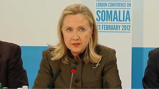US Secretary of State Hillary Clinton