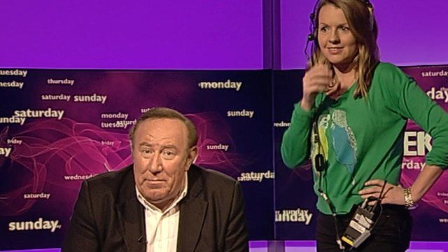 Andrew Neil and producer