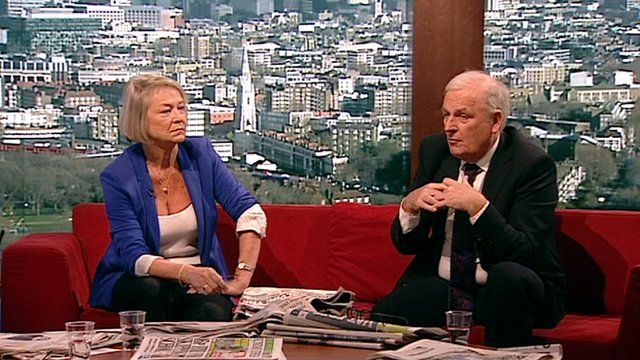 Kate Adie and Kelvin MacKenzie review the Sunday papers