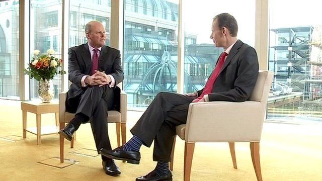 Stephen Hester and Andrew Marr