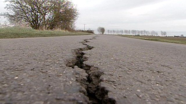 Lincolnshire County Council has identified 150 road repair hotspots in the county