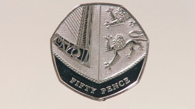 50 pence piece