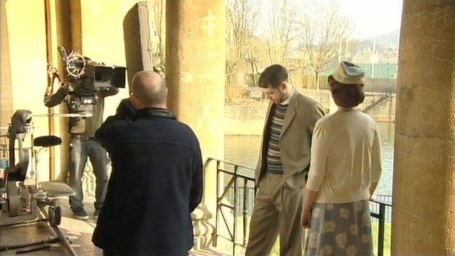 A new TV series, to be shown to a potential audience of 300 million people across the Arab world, has been filming in Bath