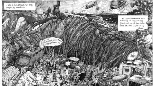 Martin Rowson's Gulliver's Travels cartoon