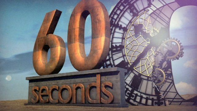 BBC Sunday Politics East: 60 seconds graphic