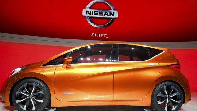 Nissan To Make New Model In Sunderland In Uk Bbc News