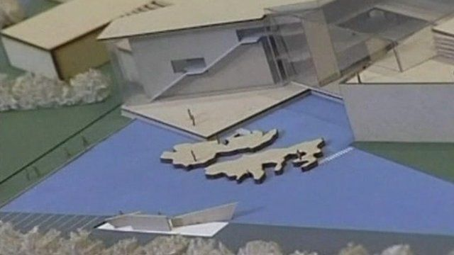 Model of the museum