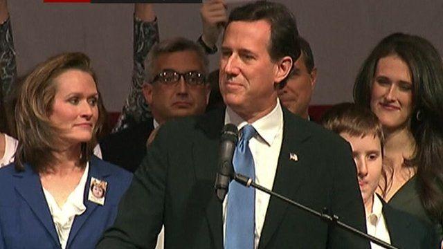 Republican Rick Santorum