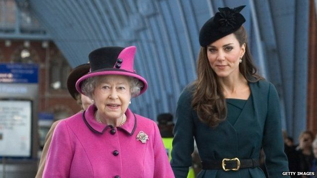 Queen and Catherine
