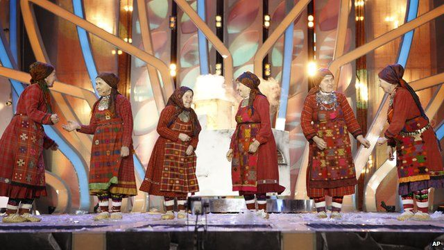 Russia's Eurovision entry.