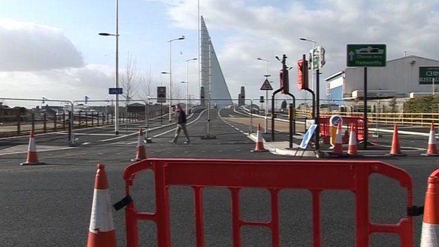 Poole's Twin Sails Bridge