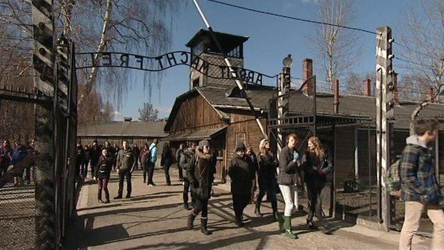 The pupils at Auschwitz
