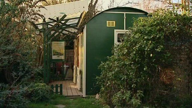 John Gardner's railway shed