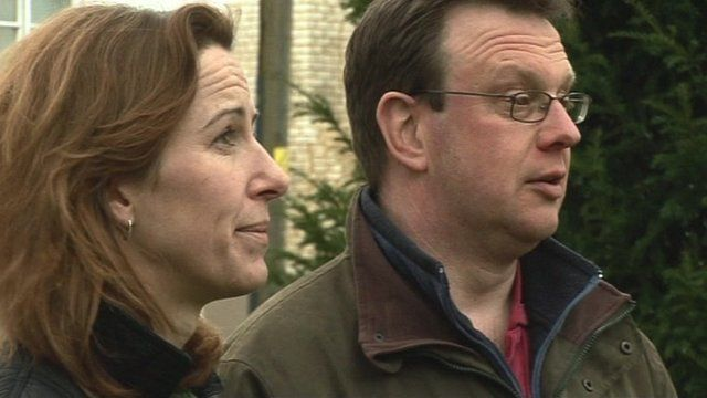 Annabel Armstrong and Neil Farbon
