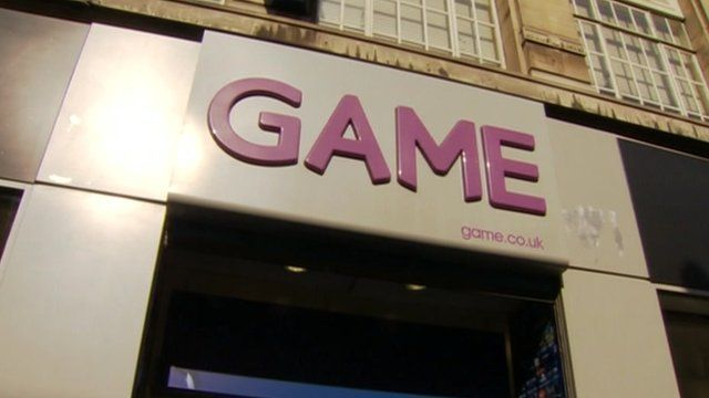 A Game store front