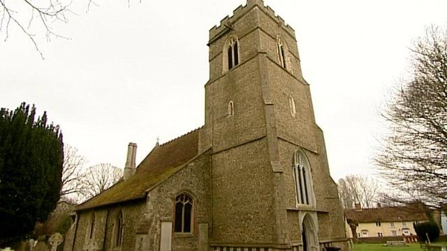 St Mary the Virgin Church in Westmill