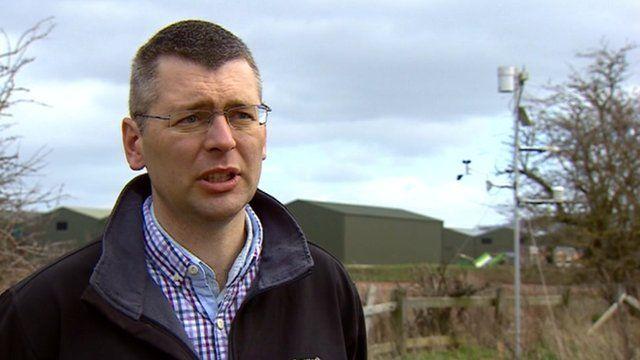 Potato farmer Andrew Marsh