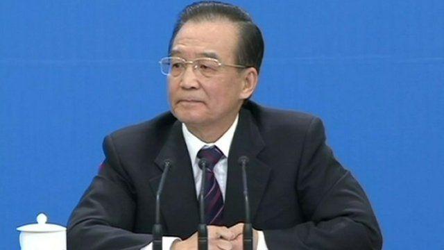 Chinese Premier, Wen Jiabao