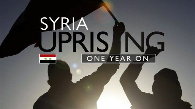 GRAPHIC: Syria Uprising; One Year On