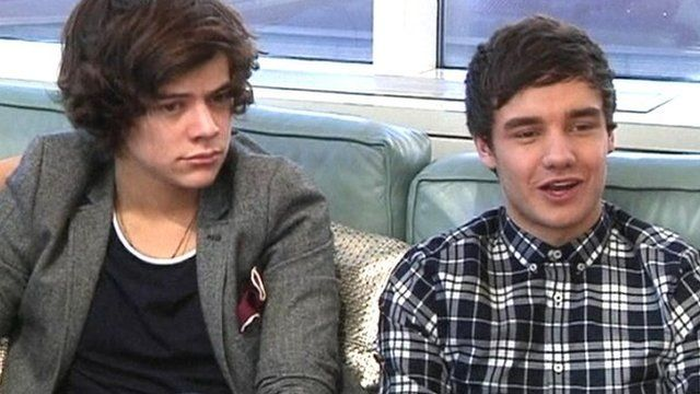 Harry Styles and Liam Payne from One Direction