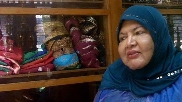 Indonesian transvestite