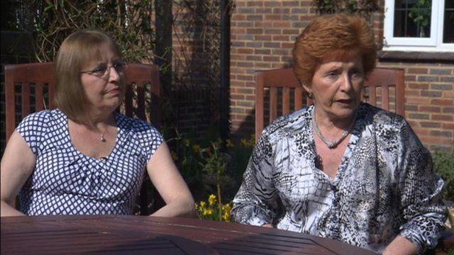 Helen Edwards and Jenny Lucas