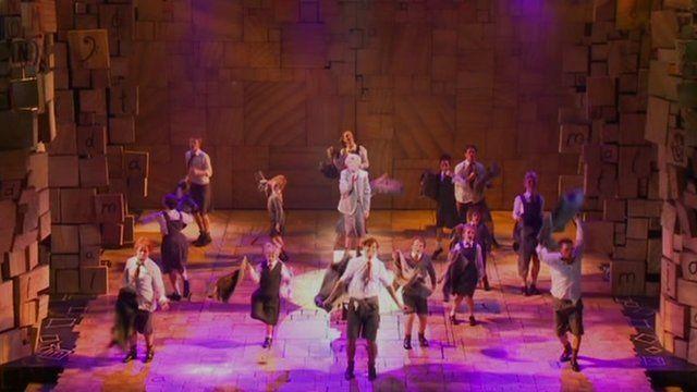 The cast of Matilda