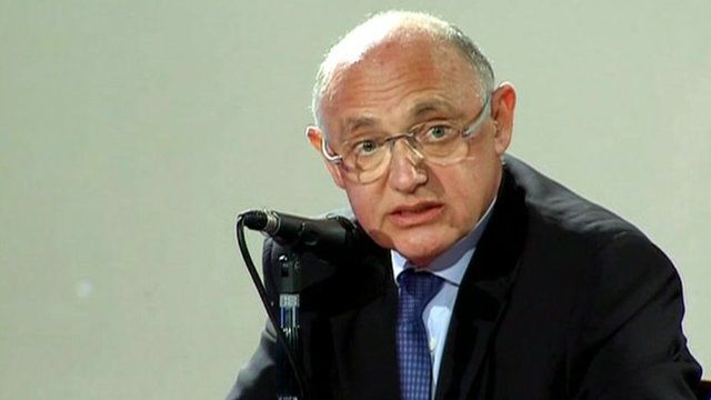 Foreign minister of Argentina Hector Timmerman