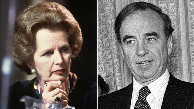 Margaret Thatcher and Rupert Murdoch