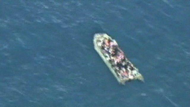 Migrant boat