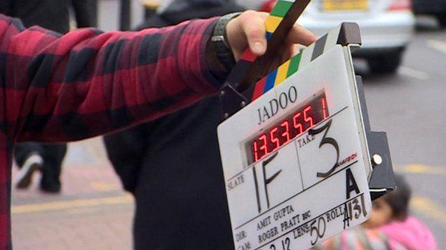 Clapperboard for Jadoo film