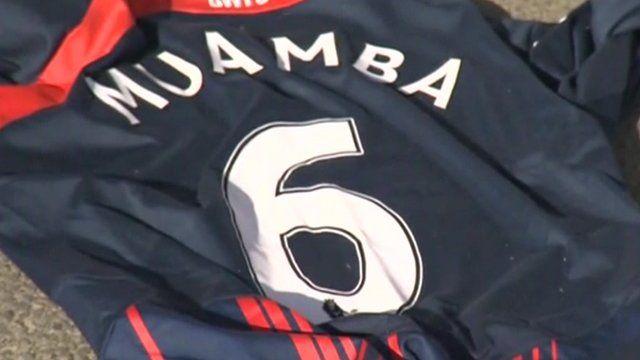 Fabrice Muamba replica shirt