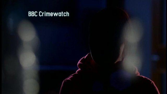 The victim speaking on Crimewatch