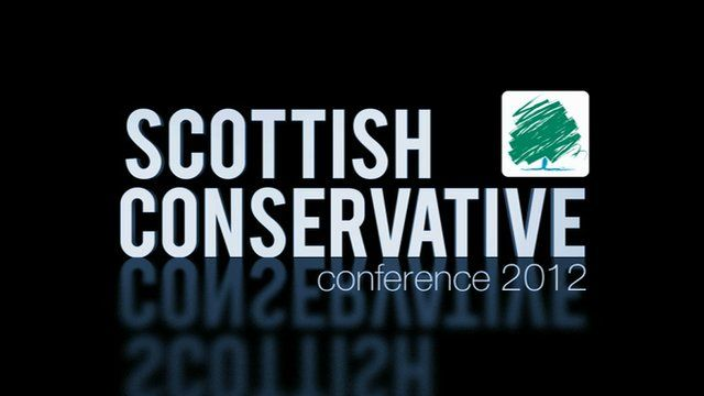 Scottish Conservative party conference 2012