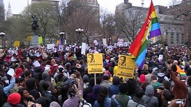 'Hoody' rally for Trayvon Martin