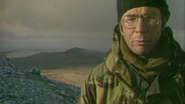 Brian Hanrahan on Mount Tumbledown