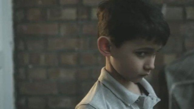 Still from NSPCC video