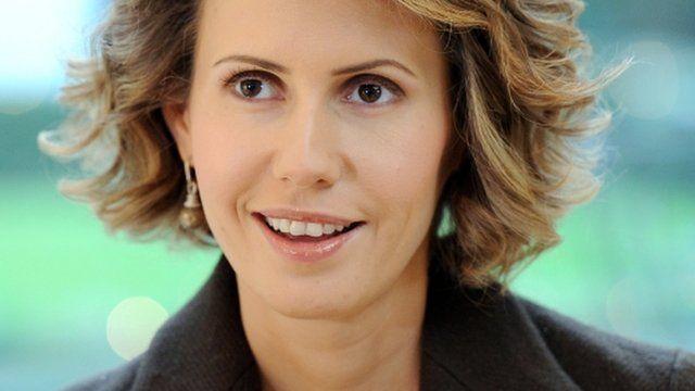 Syria: Sanctions imposed on Bashar al-Assad's wife - BBC News