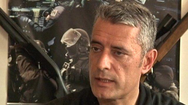 RAID's chief Amaury de Hauteclocque