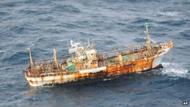 Japan tsunami 'ghost ship' drifting to Canada