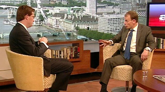 Danny Alexander and Andrew Marr