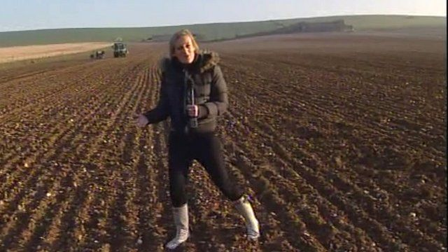 The BBC's Steph McGovern reports from Alfriston, East Sussex