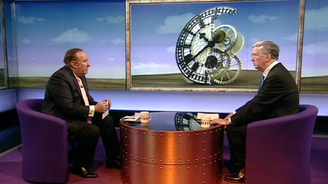 Andrew Neil and Michael Fallon