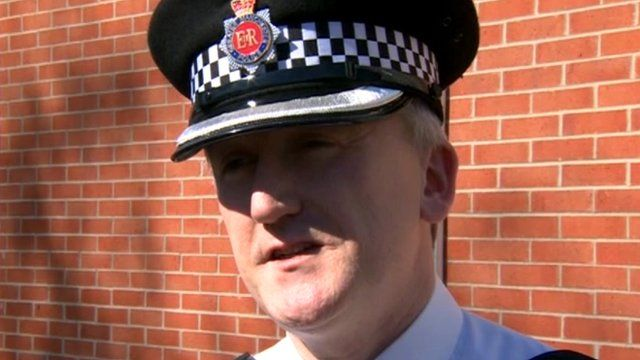 Chief Inspector Mark Kenny of Greater Manchester Police
