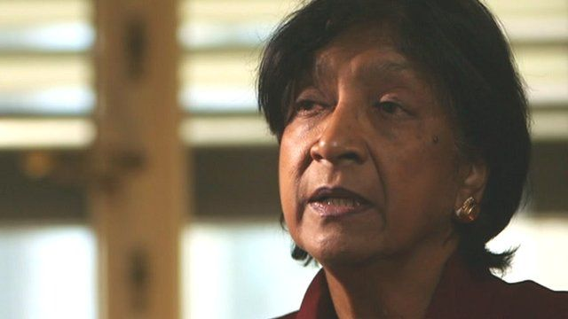 Navi Pillay, United Nations Commissioner for Human Rights