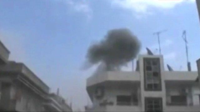 Homs attacked